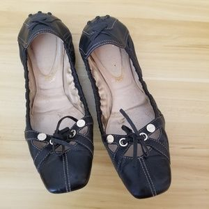 AUTH Tod's Ballet Style Driving Shoes